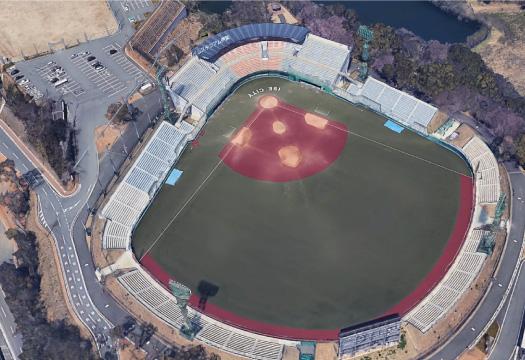 倉田公園野球場スタンド改築工事